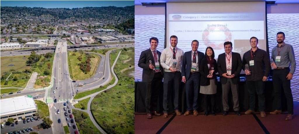 International Partnering Institute Recognizes I-580/I-80 Central Ave. Operational Improvements Project