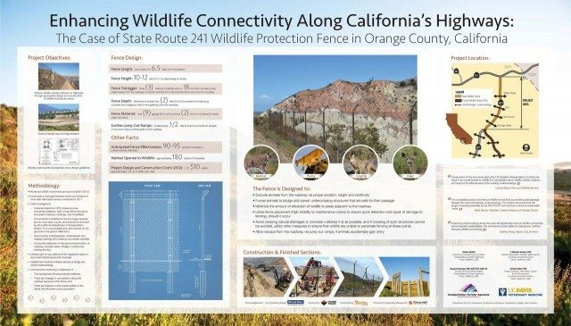 SR241 Wildlife Protection Fence Project Wins Award
