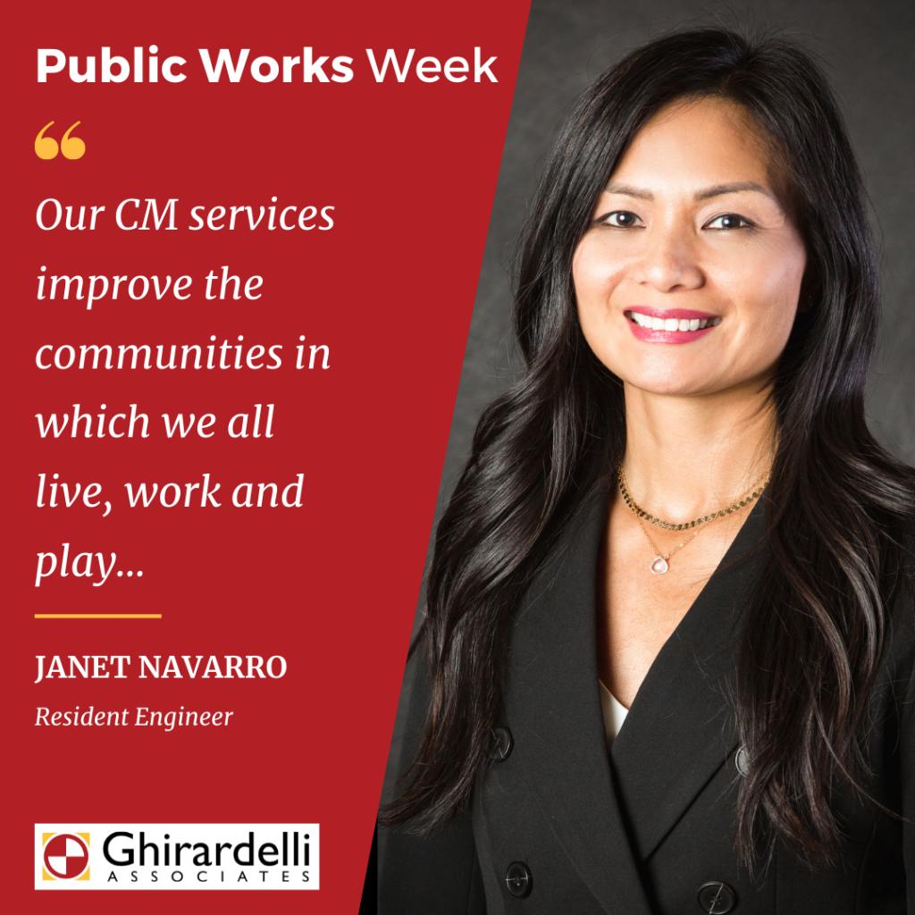 APWA Public Works Week Spotlight on Janet Navarro