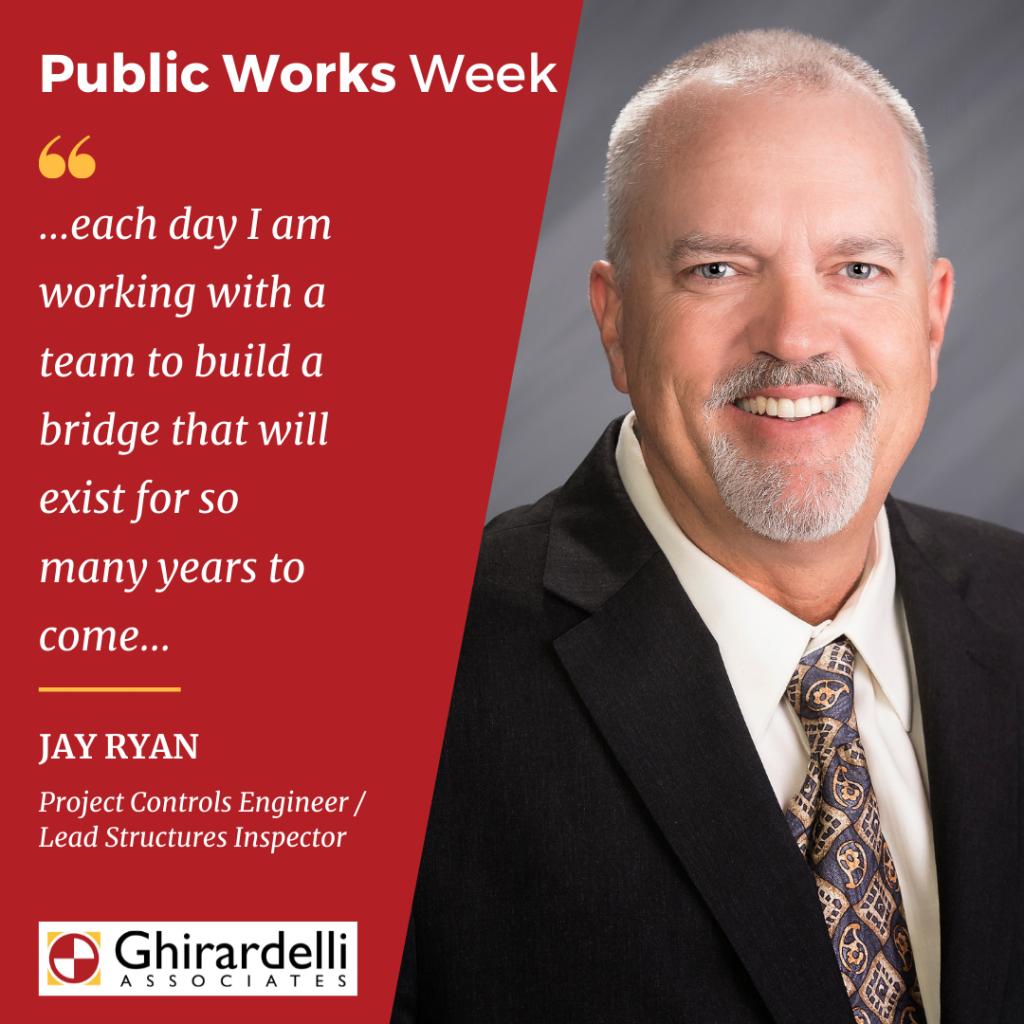 APWA Public Works Week Spotlight on Jay Ryan