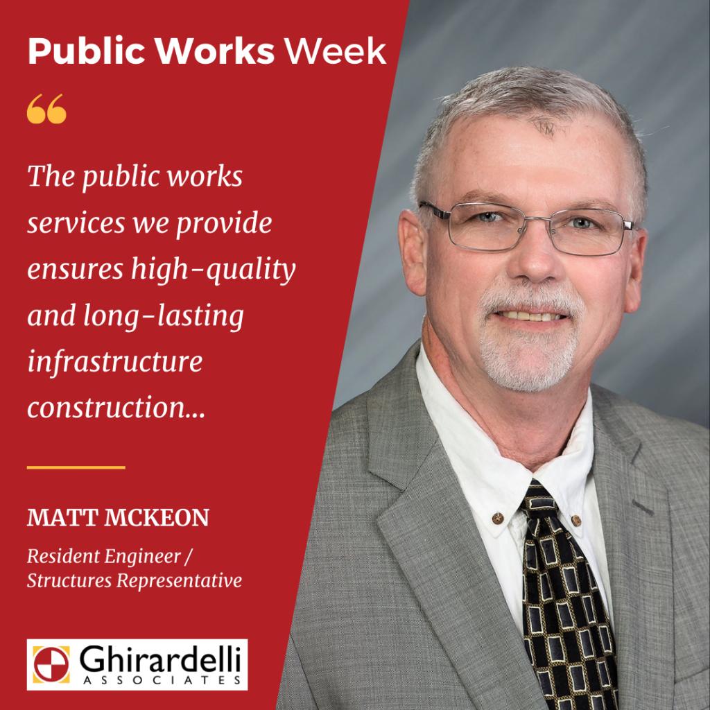 APWA Public Works Week 2021 Associate Spotlight on Matt McKeon