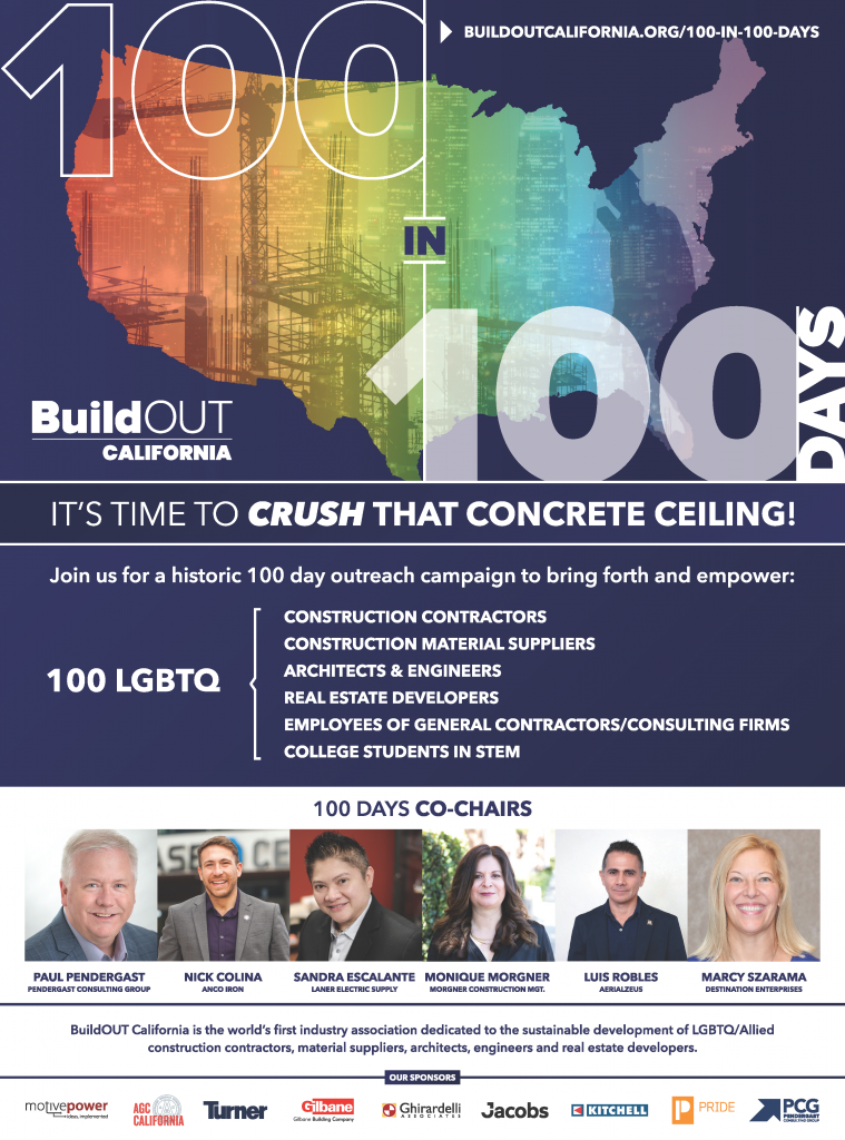 Ghirardelli Associates sponsors BuildOUT CA's 100 in 100 Days Campaign